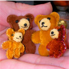 Miniature teddy bears